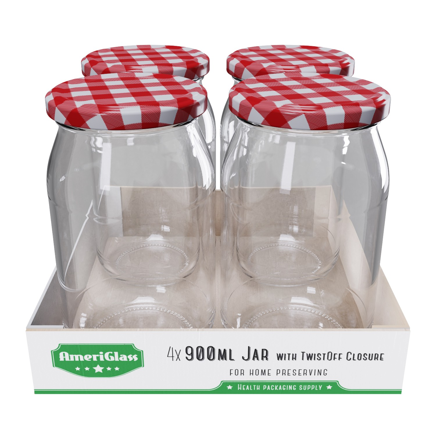 Packaging on trays - New possibility of packaging jars and bottles