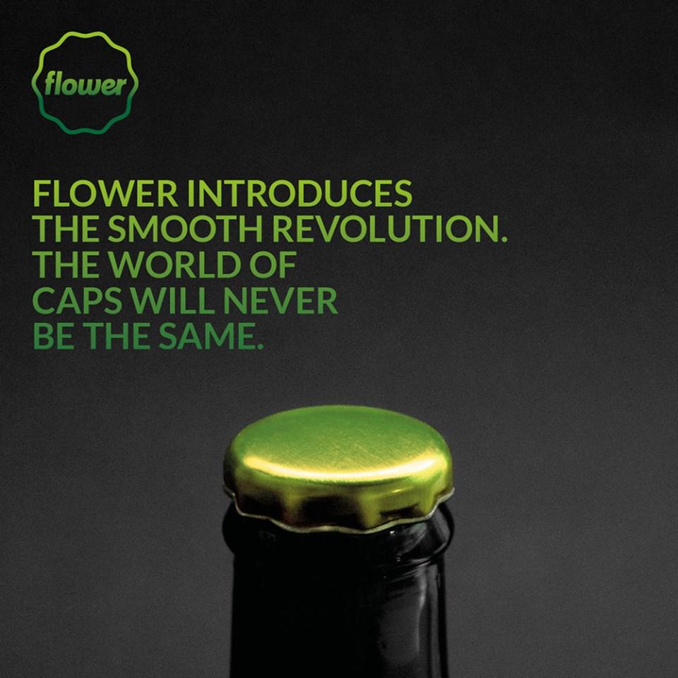 Flower - Rewolucyjnie gładkie rozwiązanie dla zamknięć Pry-Off 26mm