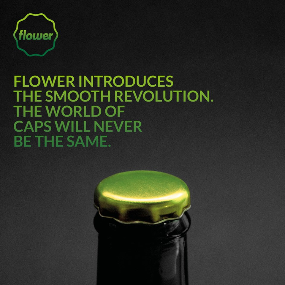 Flower - Smooth revolution in Pry-off closures